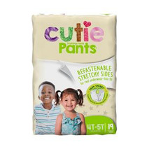 Prevail Cutie Pants Youth Training Pant for Boys and Girls, XL 4T-5T