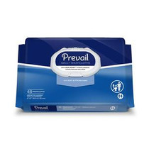 """Prevail® Disposable Adult Washcloth with Press-n-Pull Lid, 12"""" x 8"""""""
