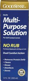 Multi-purpose Saline Solution For Soft Contact Lenses, 12 Oz.