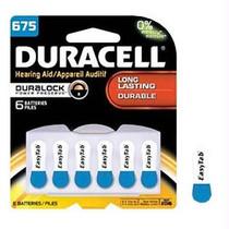 Hearing Aid Battery 1.4v Da675b6zm10