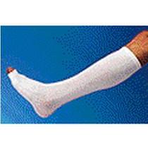 Derma Sciences Glen-Sleeve® II Protector for Leg Below Knee, 15'' x 3-1/2'' Beige