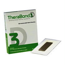 "Therabond 3d Antimicrobial Contact Dressing, 4"" X 8"""