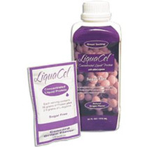 Global Health Products IN LiquaCel™ Ready-to-Use Grape Liquid Protein 32Oz, 2240 Cal, Sugar-free, Beverage fortifier