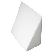 """Hermell Bed Wedge Pillow Cover, 23"""" x 21"""" x 11"""" White"""