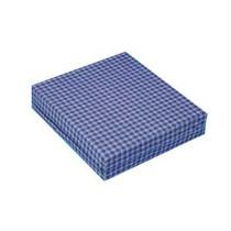 """Hermell Products Wheelchair Cushion Cover Plaid, 16"""" x 18"""" x 3"""""""
