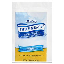 Thick & Easy® Instant Food Thickener, Honey, 6.5gm Packet