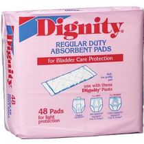 "Dignity® Regular Duty Pad 4"" x 12"""