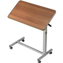 """Invacare Tilt-Top Overbed Table 30"""" L x 15"""" W x 3/4"""" D"""