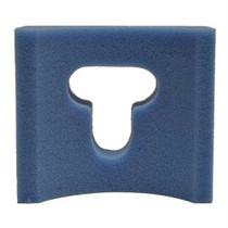 """Joerns BioClinic Adult Head Cradle, 9"""" x 8"""" x 4"""", Blue"""