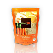 Real Food Blends Tube-fed Meals 267g Orange Chicken, Carrots And Brown Rice