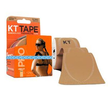 KT Health KT Tape® Pro Kinesiology Therapeutic Tape, Uncut, Single Roll, 16' Beige