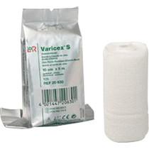 "Varicex® S Zinc Paste Unna Boot Bandage with Selvedges, White, Bi-elastic, Viscose/Polyamide, Stretched 4"" x 11 yds"