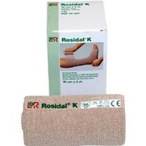 """Lohmann Rauscher Rosidal® K Short Stretch Bandage, Breathable, Latex-free, 4"""" x 5-1/2"""" yds"""