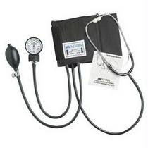 Manual Home Blood Pressure Kit With Attached Stethoscope