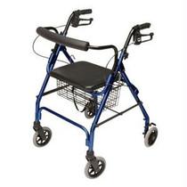 GF Health Lumex® Walkabout Lite Four-Wheel Rollator Blue