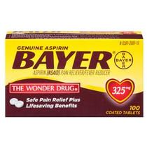 Bayer Genuine NSAID Drug, Tablet, 100 Count