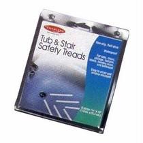 "Apex Enablers Tub/Stair Safety Treads 3/4"" W x 10"" L, Waterproof"