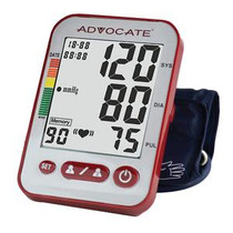 Pharma Advocate® Upper Arm Blood Pressure Monitor, with XL Cuff