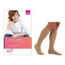 """Medi Mediven® for Men Classic Compression Stocking, Calf-High, 20 to 30mmHg, Standard, Size 4, 17-3/4"""" to 20-3/4"""" Circumference, Brown"""