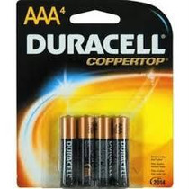 Duracell Alkaline Aaa Battery (4 Count) 1.5v For External Infusion Pump