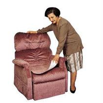 "Fiberlinks Textiles Inc Waterproof Chair Pad 21"" x 22"", Blue"