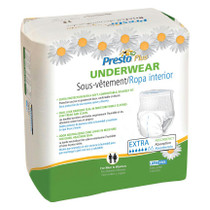 """Presto Supreme Classic Protective Underwear Small 22"""" - 36"""" Maximum Absorbency"""