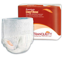 """Tranquility Premium Daytime Adult Disposable Absorbent Underwear Large 44"""" - 54"""""""