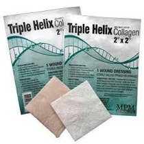 "Triple Helix Collagen Dressing 2"" X 2"" Pad"
