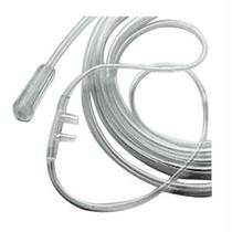 Adult Nasal Cannula, Non Flared Tip, 7 Ft Tubing