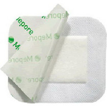 "Mepore Adhesive Absorbent Dressing, 3.6"" X 12"""