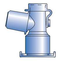Pneupac Nonsterile Standard Dual-axis Swivel Adapter