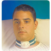 """Smiths Medical ASD Inc Portex® Child to Adult Tracheostomy Strap 1'' Wide Extra Cushioned, Maximum Neck Size: 18'', Made with soft foam pad for padding the tracheostomy tube, Fits all patients up to neck size 24""""."""