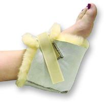 Sheepskin Ranch Sofsheep™ Sheepskin Heel Protector Unisize, Beige, Velcro® Fastener