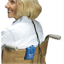 Skil-Care Wheel Chair Economy Alarm with Spring-Loaded Clip Blue, Multi-Directional Magnetic Pull-Switch Item #: SKL909207