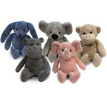Thermal Aid® Zoo Bear Blue, 100% Natural Therapeutic Source