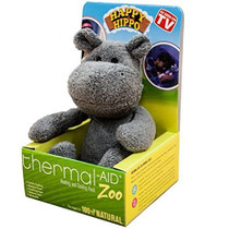 """Thermal Aid® Zoo Hippo 6"""" L x 6-1/4"""" W x 8-1/2"""" H, Reduces Fever and Relieves Pain"""