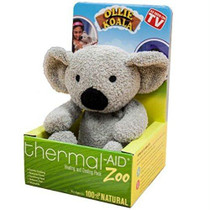 """Thermal Aid® Zoo Koala 6"""" L x 6-1/4"""" W x 8-1/2"""" H, Reduces Fever and Relieves Pain"""