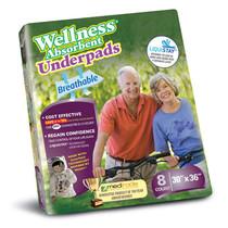 "Wellness Absorbent Underpads Size 30"" X 36"""