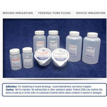 Nurse Assist USP Sterile Normal Sterile Saline For Irrigation with Screw Top Container 250mL