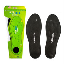 Airfeet Classic Black Insoles, Size 2m, Pair