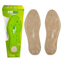 AirFeet CLASSIC™ Orthotic Insoles, Size 2L, 9 to 10.5 Male, 11 to 12 Female, Pair, Tan