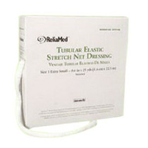"""ReliaMed® Non-Sterile Latex Tubular Elastic Stretch Net Dressing for Hand, Arm, Leg and Foot, Large 8"""" - 10"""" x 25 yds"""