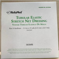 """ReliaMed® Non-Sterile Latex Tubular Elastic Stretch Net Dressing for Chest, Back, Perineum and Axilla, Medium 24"""" - 33"""" x 25 yds"""