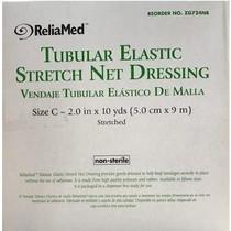 """Reliamed Tubular Elastic Stretch Net Precut Dressing, Size C, 2"""" X 10 Yds."""