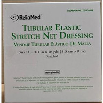 "ReliaMed® Non-Sterile Latex Tubular Elastic Net Pre-Cut Dressing, 3.1"" x 10 yds"