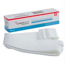 """Cardinal Health Essentials Adjustable Ostomy Belt For Convatec Pouches With Plastic Buckle, 1"""" Width"""