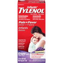 Children's Tylenol Oral Suspension Liquid, Grape Splash, 4 Fl Oz