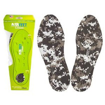 AirFeet CLASSIC™ Orthotic Insoles, Size 1M, 7 to 8 Male, 8 to 9 Female, Pair, Camo