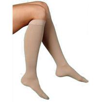 Soft Opaque, Calf, 20-30 Mmhg, Small, Short, Women's Closed Toe, Nude