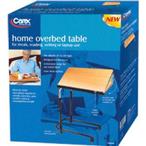 Carex Home Overbed Table, Adjustable